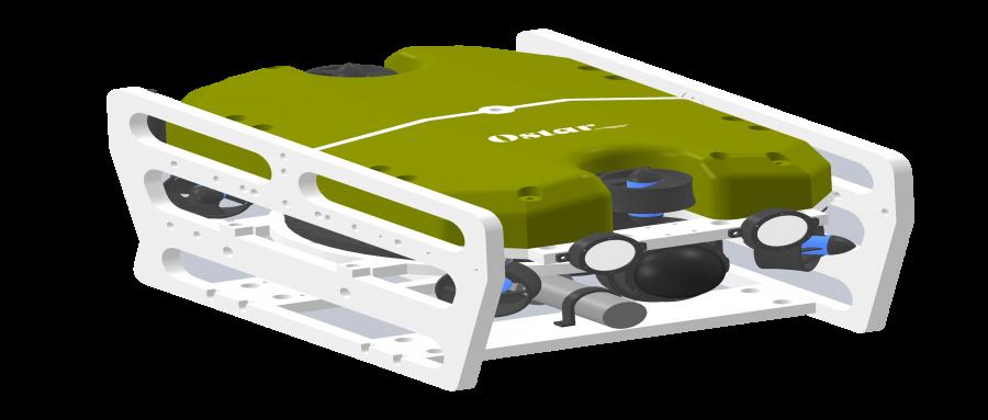ROV3-小型水下视频图像采集机器人