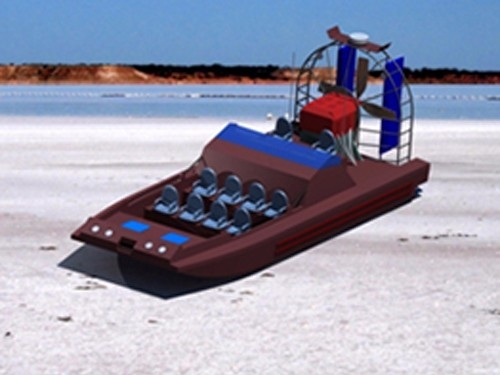 9000型高速空气动力艇