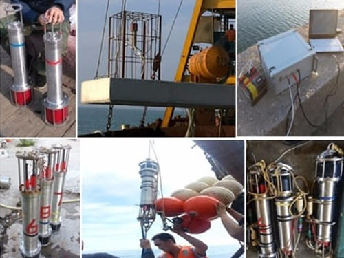 多用户水下传感器数据无线回收系统