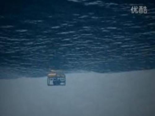 水下机器人堤坝检测原理的动画演示