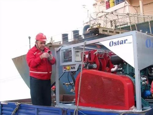 空化射流产品清刷货船